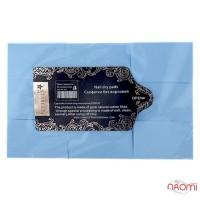Салфетки безворсовые Starlet Professional, 6х4 см, 500 шт., цвет голубой
