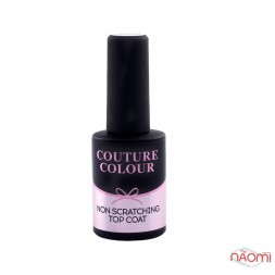 Топ для гель-лаку без липкого шару Couture Colour Non Scratching Recovering Top Coat, 9 мл