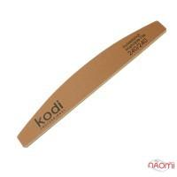 Пилка для ногтей Kodi Professional 240/240 полумесяц, цвет золотистый