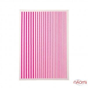 Гнучка стрічка для нігтів TSZS, колір рожевий
