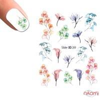 Слайдер-дизайн 3D 269 Цветы
