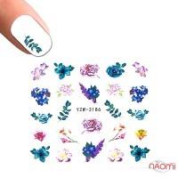 Слайдер-дизайн YZW-3186 Цветы, ветки