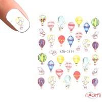 Слайдер-дизайн YZW-3197 Воздушные шары