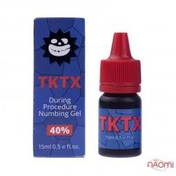 Гель-анестетик для микроблейдинга и татуажа TKTX 40%, 15 г