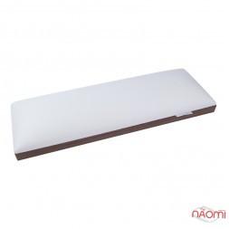 Підлокітник для рук Rainbow Store настільний, на металевих знімних ніжках, колір білий