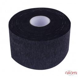 Комірці паперові, картонна втулка, 100 шт., колір чорний