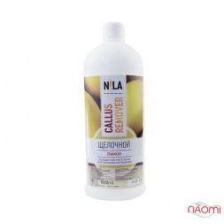 Щелочной пилинг для педикюра Nila Callus Remover Лимон, 1000 мл