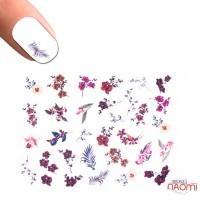 Слайдер-дизайн 3D 633 Цветы