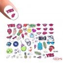 Слайдер-дизайн 3D 645 Губы,мороженое, знаки, фото 1, 50.00 грн.