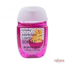 Санітайзер Bath Body Works PocketBac, малиново-лимонний сорбет, 29 мл