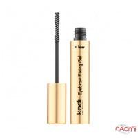 Фіксуючий гель для брів Kodi Professional Eyebrow fixing gel, прозорий, 7 мл