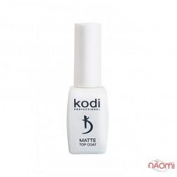 Топ матовый для гель-лака Kodi Professional Matte Top Velour NEW 8 мл