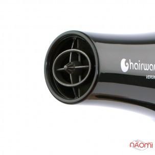 Фен Hairway Verona Ionic з іонізацією, змінними насадками, професійний, 2100 W, колір чорний