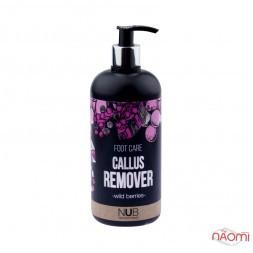Кислотный пилинг для педикюра NUB Callus Remover Foot Care, лесная ягода, 500 мл