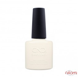 CND Shellac Bridal 318 White Wedding нежный белый, 7,3 мл