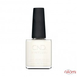 Лак CND Vinylux Bridal 318 White Wedding молочный, 15 мл