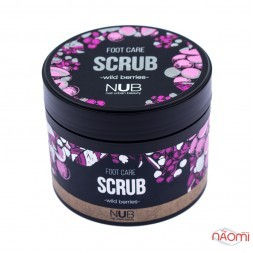 Скраб для ніг NUB Foot Care Scrub, лісова ягода, 300 мл