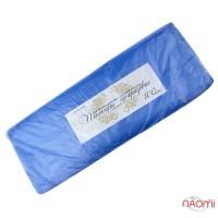 Пеньюар одноразовый полиэтиленовый с антистатиком, цвет синий 100 шт.