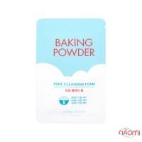 Пенка для очищения и сужения пор Etude House Baking Powder Pore Cleansing Foam, 4 мл