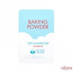 Пенка для очищения и сужения пор  Etude House Baking Powder, 4 мл