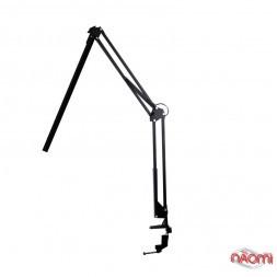 Лампа-штатив настольная светодиодная, цвет черный