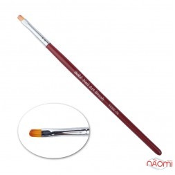 Кисть для геля YRE Nail Art Brush YKHR-06, арочная