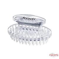 Щетка овальная Kodi Professional для удаления пыли, прозрачная