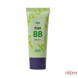 BB крем для лица Holika Holika Aqua Petit BB SPF 25 PA++ освежающий с экстрактами цветов, 30 мл