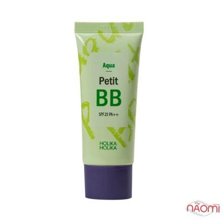 BB крем для лица Holika Holika Aqua Petit BB SPF 25 PA++ освежающий с экстрактами цветов, 30 мл, фото 1, 192.00 грн.