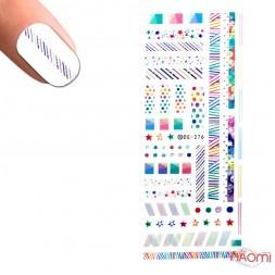 Слайдер-дизайн DS 276 Линии, точки цветные