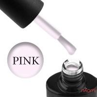 База для гель-лака с волокнами NUB Fiber Base Coat Pink, цвет розово-лиловый, 8 мл