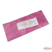Пеньюар одноразовый полиэтиленовый с антистатиком, цвет розовый, 50 шт.