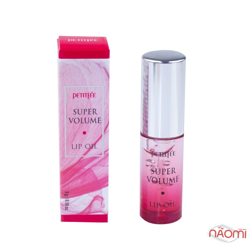Ухаживающее масло с эффектом объемных губ Petitfee Super Volume Lip Oil, 3 г, фото 1, 263.00 грн.