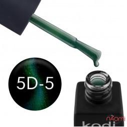 Гель-лак Kodi Professional Moonlight 5D 05 изумрудно-фиолетово-сиреневый блик, 8 мл