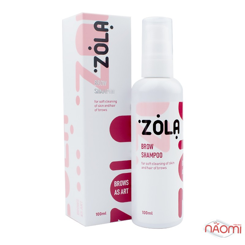Шампунь для бровей ZOLA Brow Shampoo, 100 мл, фото 1, 170.00 грн.