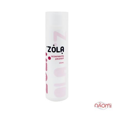 Обезжириватель для бровей ZOLA с эффектом заживления и увлажнения кожи, 250 мл, фото 1, 190.00 грн.