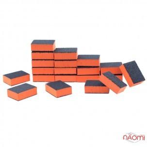 Набір міні-бафиків для нігтів 80/100, в наборі 50 шт., колір в асортименті