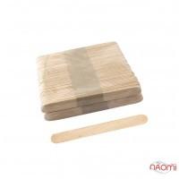 Шпатель дерев'яний, одноразовий 9х1,0 см, 100 шт