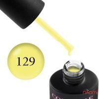 Гель-лак Couture Colour 129 лимонно-желтый, 9 мл