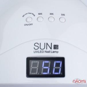 УФ LED лампа SUN 1s, 48 Вт, таймер 10,30,60,99 сек, з дисплеєм, колір білий
