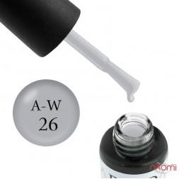 Гель-лак Boho Chic BC A-W 26 мягкий серый, 6 мл