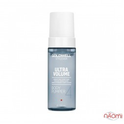 Пена Goldwell Ultra Volume Body Pumper Densifying Pump Foam укрепляющая для объема волос, 150 мл