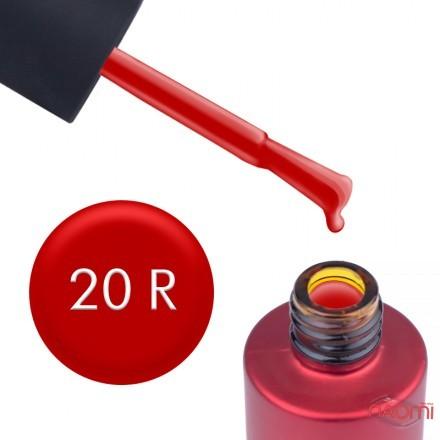 Гель-лак Kodi Professional Red R 020 огненно-красный, 7 мл, фото 1, 120.00 грн.