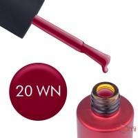 Гель-лак Kodi Professional Wine WN 020 карминовый, 7 мл