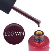 Гель-лак Kodi Professional Wine WN 100 темный виноградно-сливовый, 7 мл