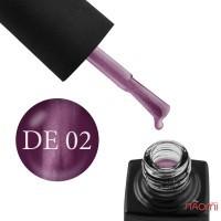 Гель-лак GO Active Dragon Eye 02 сливовый с сиренево-розовым бликом, 10 мл