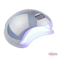 УФ LED лампа светодиодная Sun 5 Mirror 48 Вт, таймер 10, 30, 60, 99 сек, цвет зеркально-жемчужный