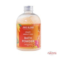 Пудра бурлящая для ванны Joko Blend Crazy About You с маслом абрикосовой косточки и мяты, 200 г