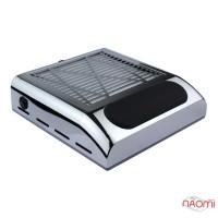 Вытяжка для маникюра Simei BQ 858-8 с HEPA-фильтром, 24х23х8,5, цвет серебро