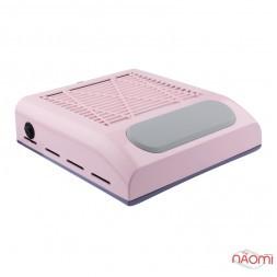 Вытяжка для маникюра Simei BQ 858-8 с HEPA-фильтром, 24х23х8,5, цвет розовый